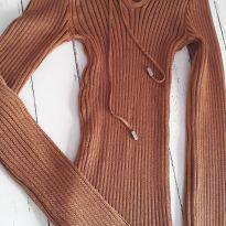 Blusa tricô - 12 anos - Não informada