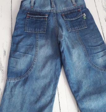 Jardineira jeans - 3 anos - Não informada