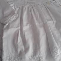 Vestido branco - 6 a 9 meses - Lilica Ripilica Baby