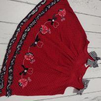 Vestido joaninha - 6 a 9 meses - Blueberi Boulevard - USA