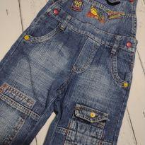 Macacão jeans - 3 anos - Não informada