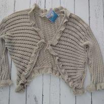 Casaquinho tricô - 12 anos - Não informada