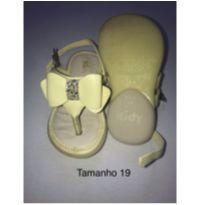 Sandália amarela - 19 - Tigor, Gap, Kidy
