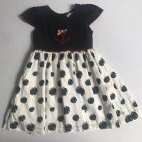 Vestido náutico - 9 a 12 meses - Alô bebê