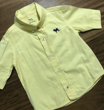Camisa Manga Curta Charpey - 12 a 18 meses - Charpey