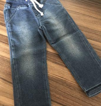 Calça Jeans com Elástico Hering Kids - 2 anos - Hering Kids