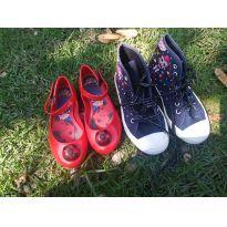 Tênis Lool e sapatilha Ladybug tamanho 28 - 28 - Grendene