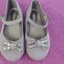 Sapato Boneca Rosa - 26 - Addan Baby