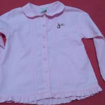 camisa infantil rosa - 5 anos - Milon