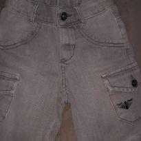 Bermuda jeans Bege - 3 anos - Plg Denim