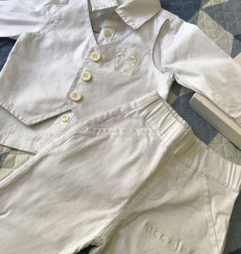 Kit Batizado TIGOR baby - 3 a 6 meses - Tigor T.  Tigre e Tigor Baby