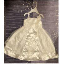 vestido batizado ou daminha - 2 anos - Sem etiqueta Importado