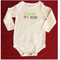 Body branco I love my mom - 9 meses - Circo