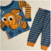 Pijama Nemo longo - 3 a 6 meses - Disney baby