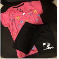 conjunto camiseta e short esportes - 4 anos - Marca não registrada