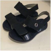 Sandália Azul novinha - 22 - Kidy