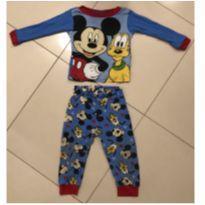 Pijama Mickey e pluto - 12 a 18 meses - Disney