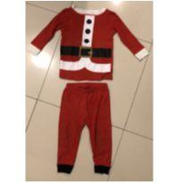 Pijama Papai Noel - 1 ano - Koala Kids