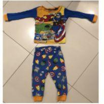Pijama Marvel - 12 a 18 meses - MARVEL