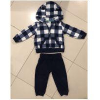Conjunto Calca e casaco em fleece Carters - 18 meses - Carter`s