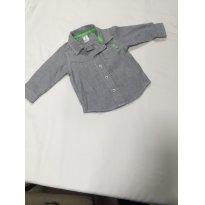Camisa Social - Carters - 9 meses - Carter`s