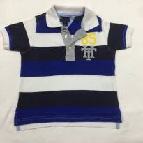 Camiseta Polo - Tommy Hilfiger - 2 anos - Tommy Hilfiger