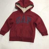 Blusão Sherpa - GAP (pelinhos) - 3 anos - Baby Gap