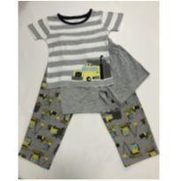 Pijama 3 peças - Carters - 4 anos - Carter`s