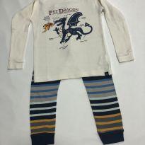 Pijama 2 pecas - GAP - 2 anos - Baby Gap