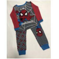 Pijama Spider Man - 5 anos - MARVEL