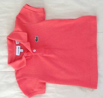 d3e8eb56018 Camisa Polo Lacoste 1 ano 9 a 12 meses no Ficou Pequeno - Desapegos ...