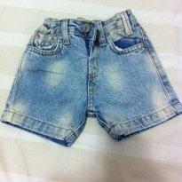 Shorts Jeans - 3 a 6 meses - Zara