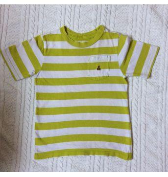 Camiseta Gap listrada - 5 anos - Baby Gap