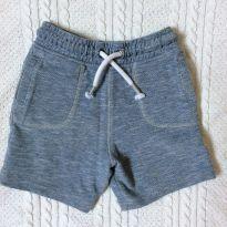 Bermuda/ Shorts azul de algodão - 4 anos - tu baby