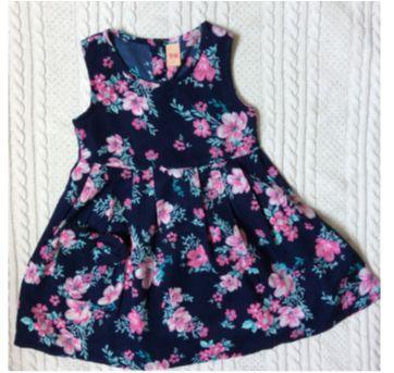 Vestido florido - 1 ano - pernambucanas