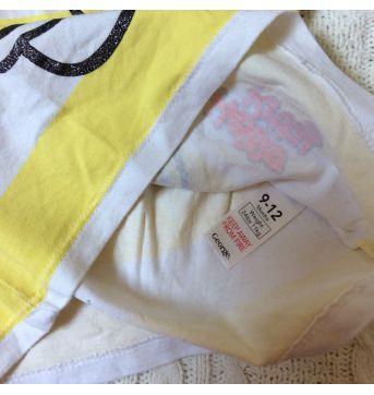 Camiseta manga curta Hellokitty - 9 a 12 meses - George