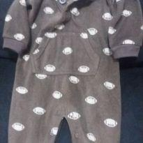 Macacão Carters fleece - 9 meses - Carter`s
