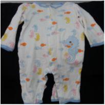 Pijama Macacão Carters - 12 a 18 meses - Carter`s