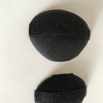 2 espumas com velcro para penteado moicano - Sem faixa etaria - Não informada