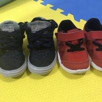 Dois tênis Nike - 18 - Nike réplica e Nike orig