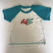 Camiseta com proteção UV50 tam 2 Tip top - 2 anos - Tip Top