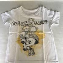 Camiseta tigor tam1 - 1 ano - Tigor T.  Tigre