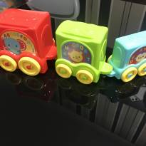 Trem de encaixe fisher price -  - Fisher Price