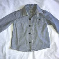Camisa jeans cea tam 24 meses. - 18 a 24 meses - Cea, click house