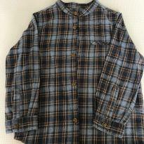 Camisa xadrez flanelada Zara tam 3 - 3 anos - Zara