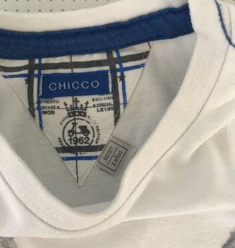Camiseta Chicco tam 2 - 2 anos - Chicco