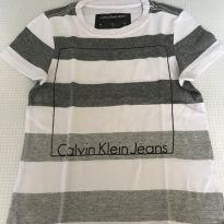 Camiseta calvin Klein tam2 - 2 anos - Calvin Klein