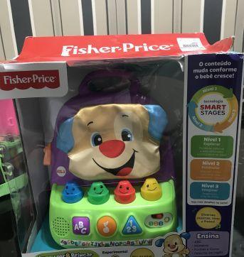Mochila aprender e brincar fisher Price - Sem faixa etaria - Fisher Price