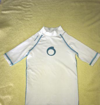 Camiseta para piscina com proteção uv 50 tam 4 - 4 anos - Tribord