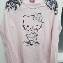 Camiseta manga longa Hello Kitty - 14 anos - Hello  Kitty
